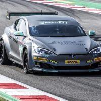 El Tesla P100D de Electric GT hace su debut mundial en Barcelona