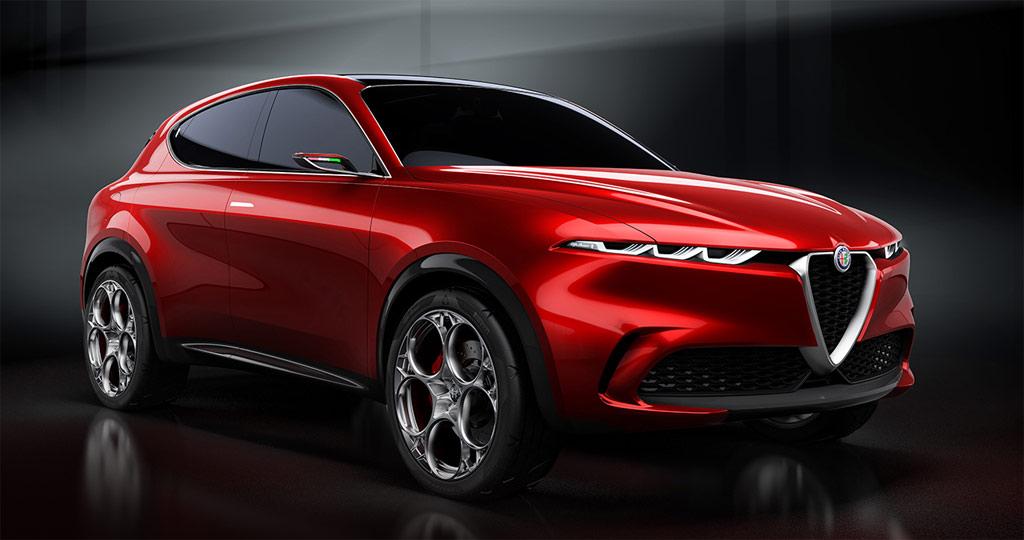 Concept Romeo Alfa Preestreno Tonale En Italiano Del Car Salone El dthrCQBsx