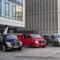 Nueva Vito 2020: atractiva actualización para la furgoneta mediana de Mercedes-Benz