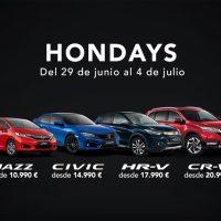 "Regresan los ""HONDAYS"" de Honda Canarias."