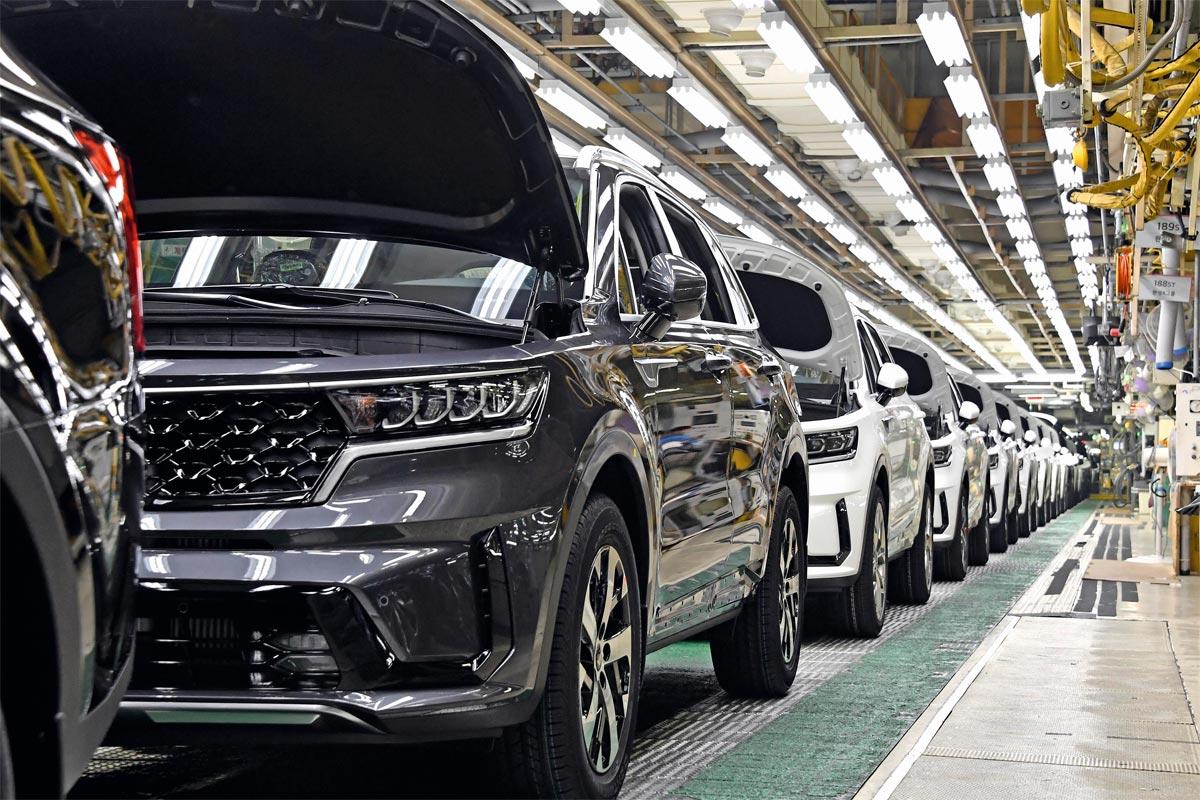 Inicio de la producción del nuevo Kia Sorento Híbrido