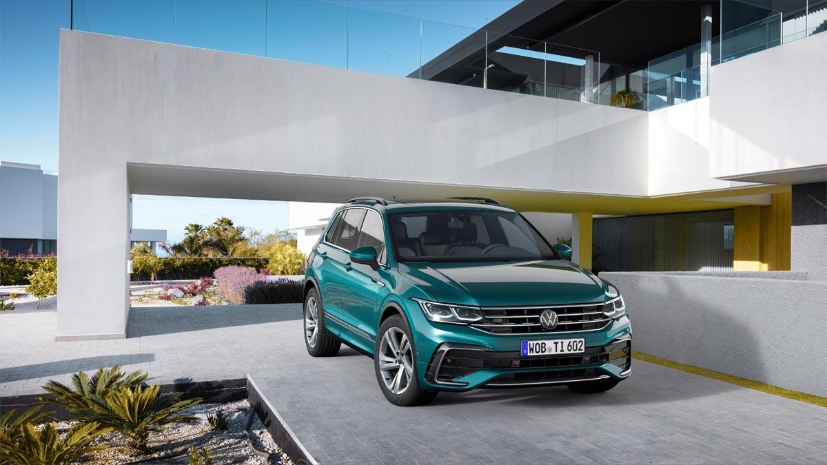 El icono SUV de Volkswagen se reinventa: Vuelve Tiguan