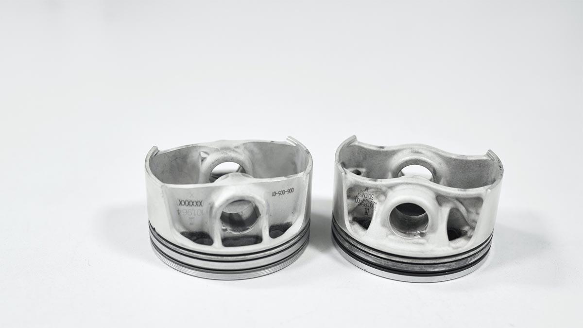 Innovadores pistones impresos en 3D para aumentar la potencia y eficiencia