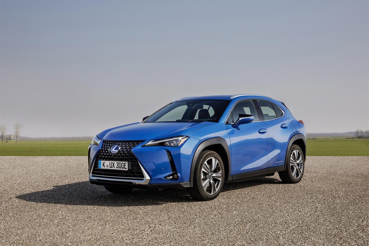 El nuevo UX 300e eléctrico incorpora las últimas innovaciones de Lexus