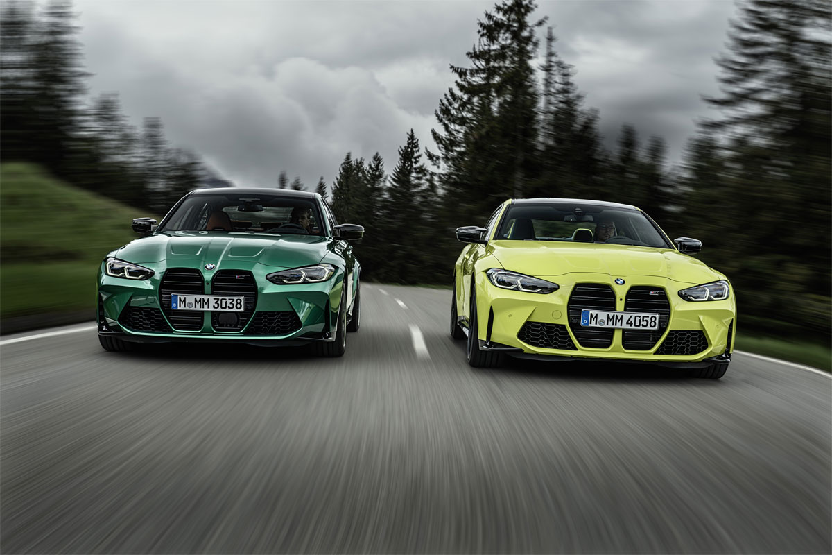 Los Nuevo BMW M3 Competition y BMW M4 Competition Coupé