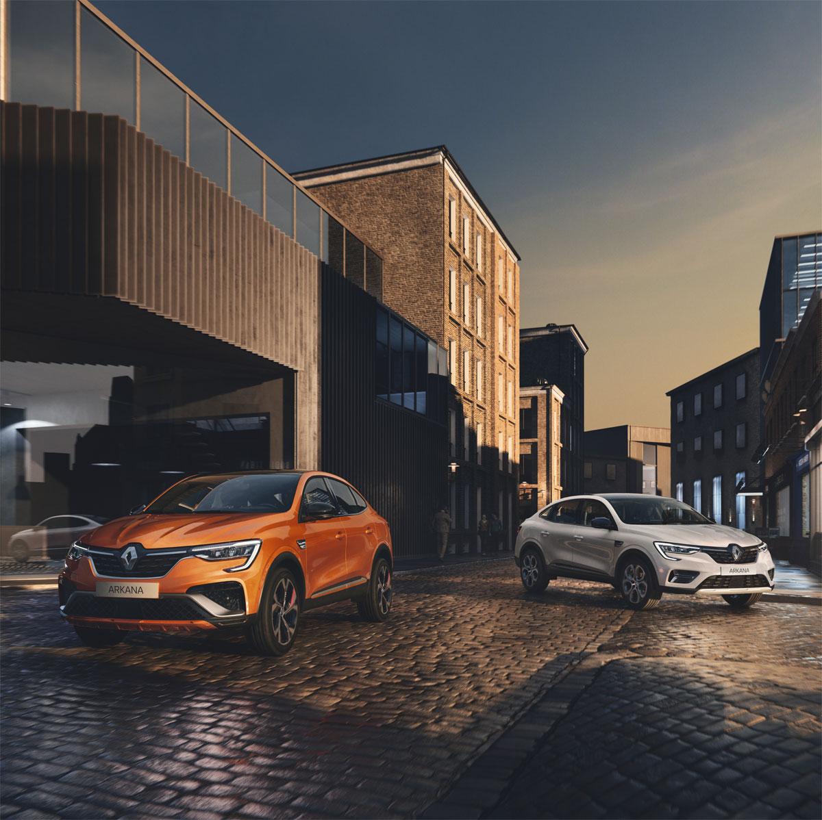 Renault desvela el Nuevo Arkana: Un SUV Coupe híbrido para Europa