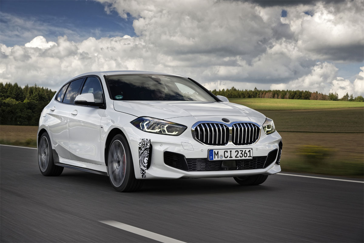 El nuevo BMW 128ti completa sus últimas vueltas a Nürburgring.