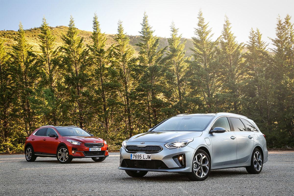 Kia Motors introduce variantes híbridas enchufables de bajas emisiones para el XCeed y Ceed Tourer