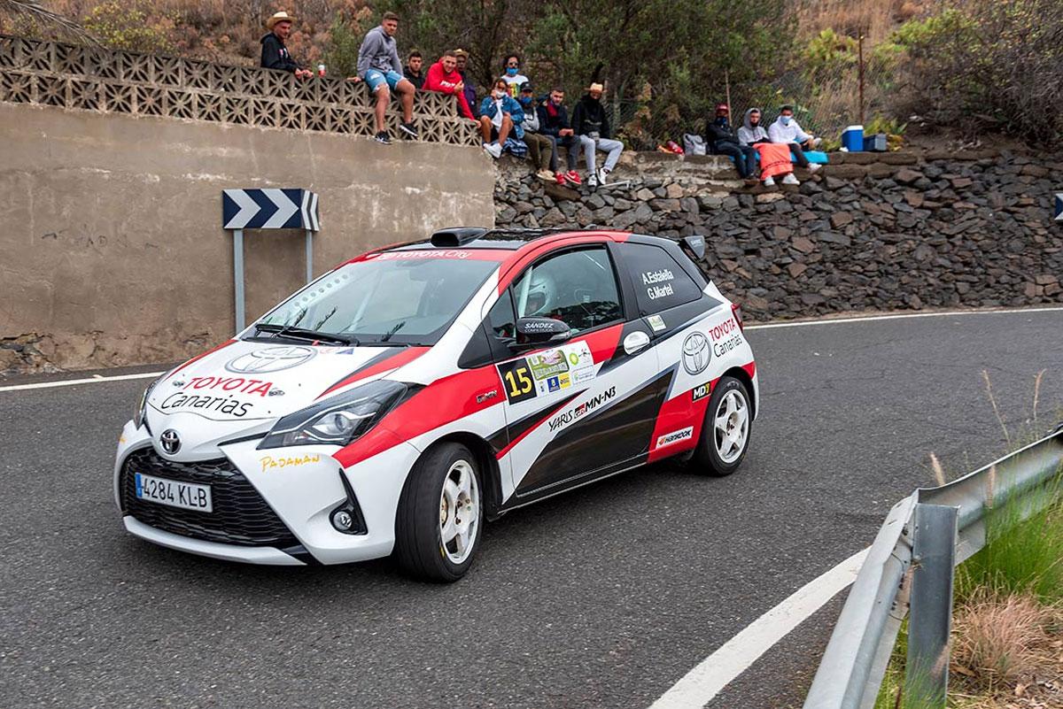 El equipo Padaman Sport en el 6º Rally Comarca Norte de Gran Canaria