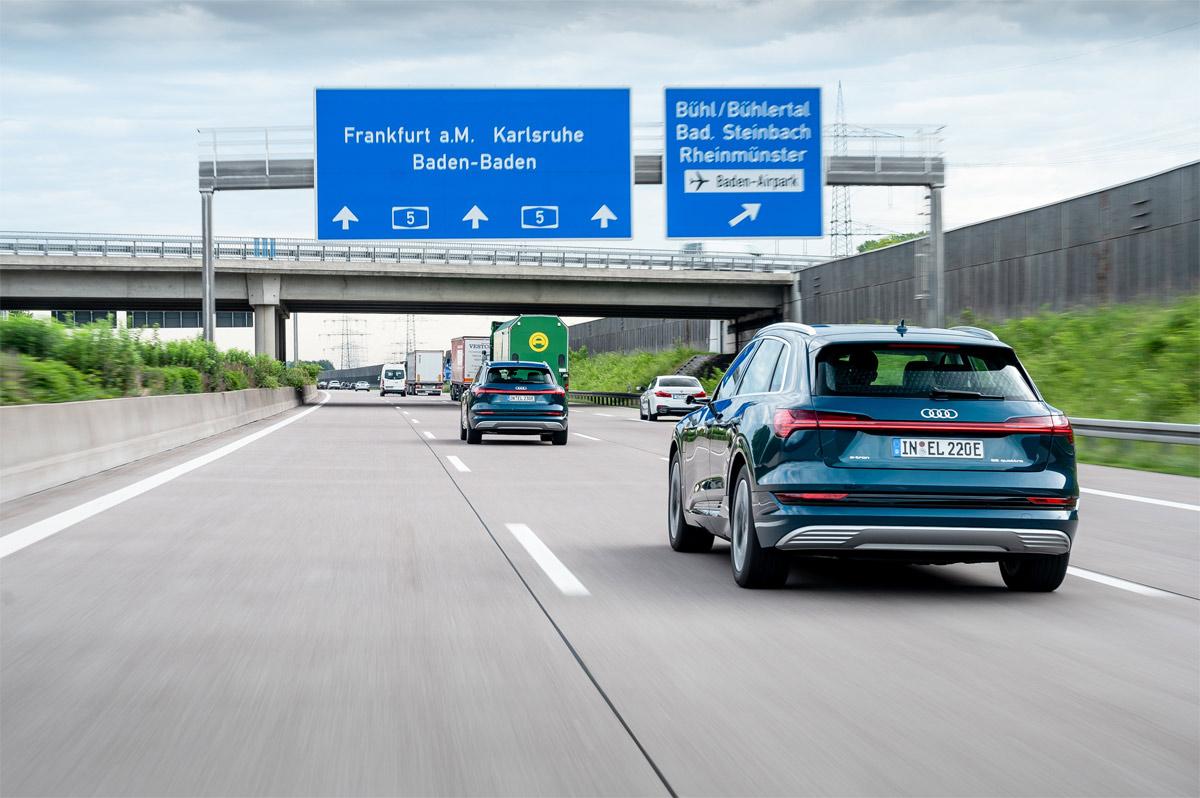 Audi e-tron route planner: el asistente inteligente para la conducción eléctrica