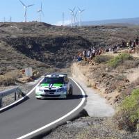 El Rallye Orvecame Isla Tenerife sin la presencia de público