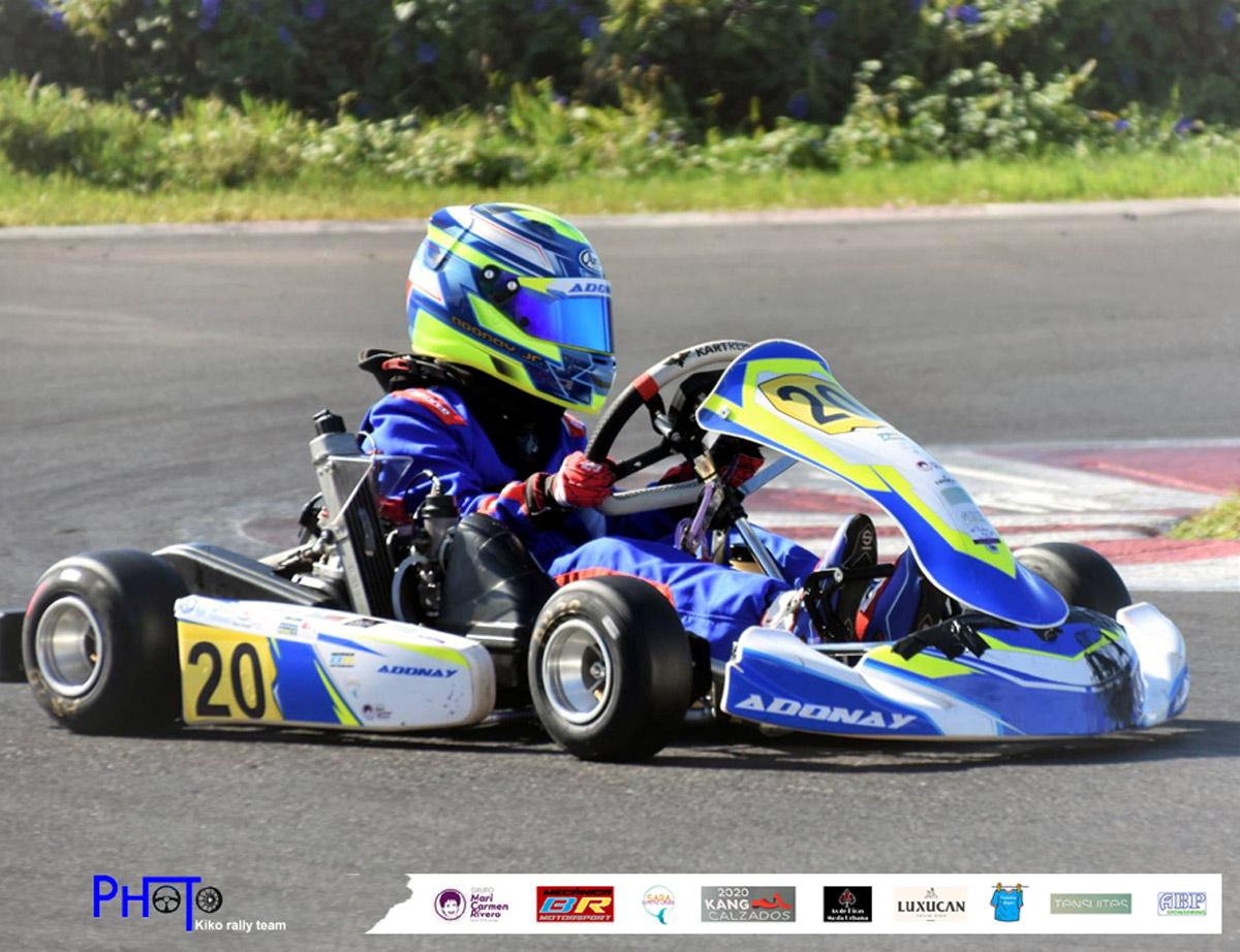 Nueva competición para Adonay Crespo en el Gran Karting Club Gran Canaria