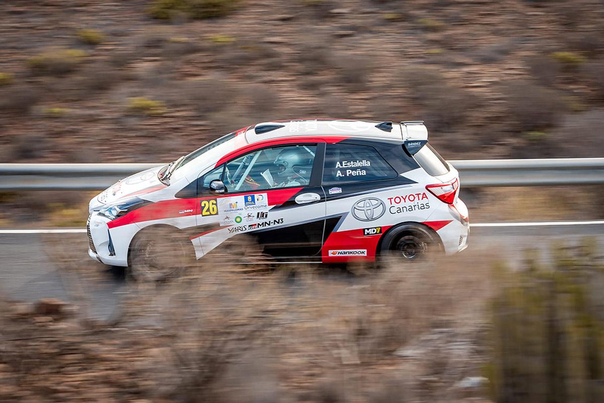 El Toyota Yaris GRMN vuelve al Rally Isla de Tenerife con el equipo de Padaman Sport