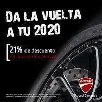 Da la vuelta al 2020 con los accesorios de Ducati