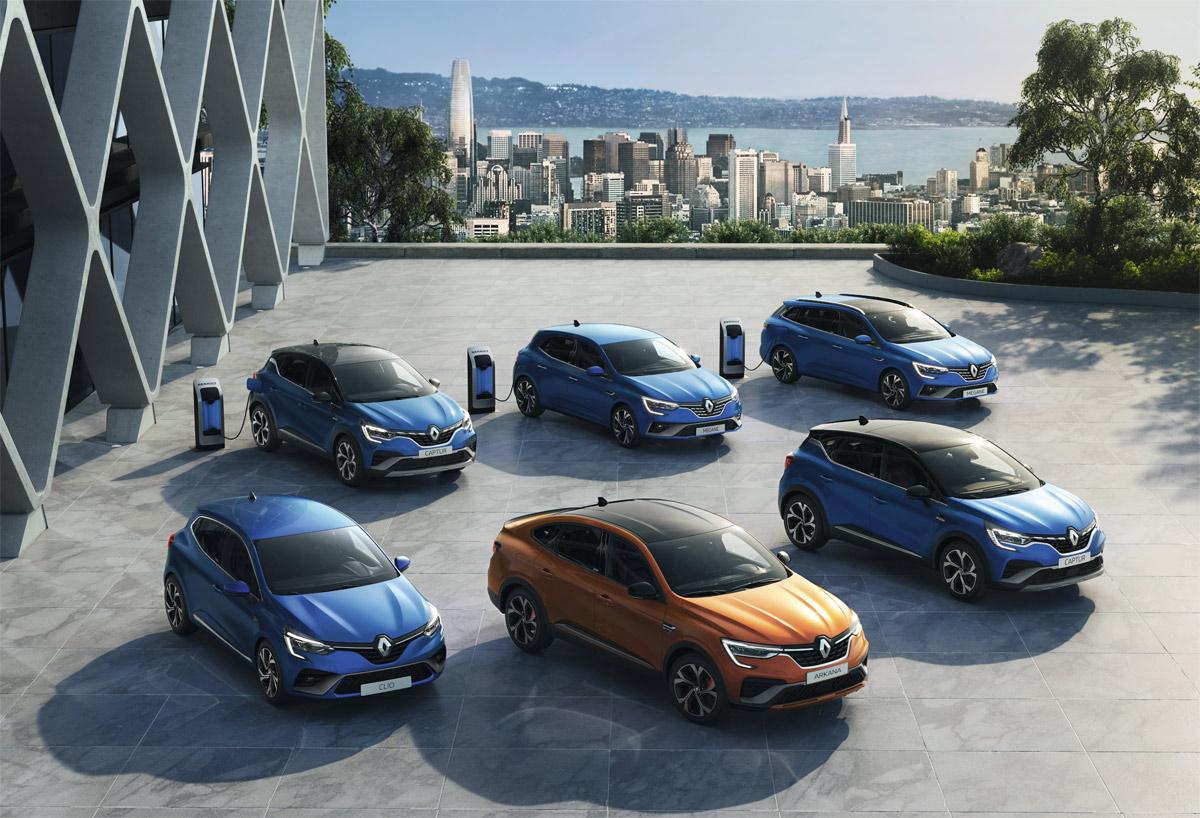 Tres nuevos modelos híbridos amplían la gama Renault E-TECH