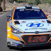 Segundo triunfo consecutivo de Lemes-Peñate con el Hyundai i20-R5 en el Rallye de Maspalomas