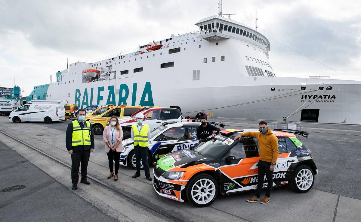 Fred. Olsen Express y Baleària ratifican su compromiso con el Rally Islas Canarias