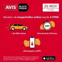 Mañana comienzan los precios megachollos de AVIS Black Friday