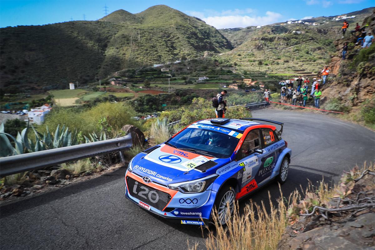 Rally Islas Canarias: La acción comienza mañana con el tramo de calificación de Guía