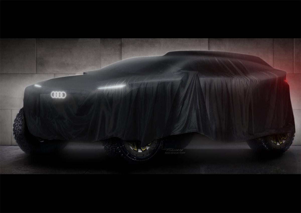Audi competirá en el Rally Dakar