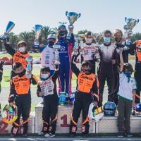 El Gran Karting Club de Tarajalillo acogió el Campeonato Provincial de Las Palmas de Karting