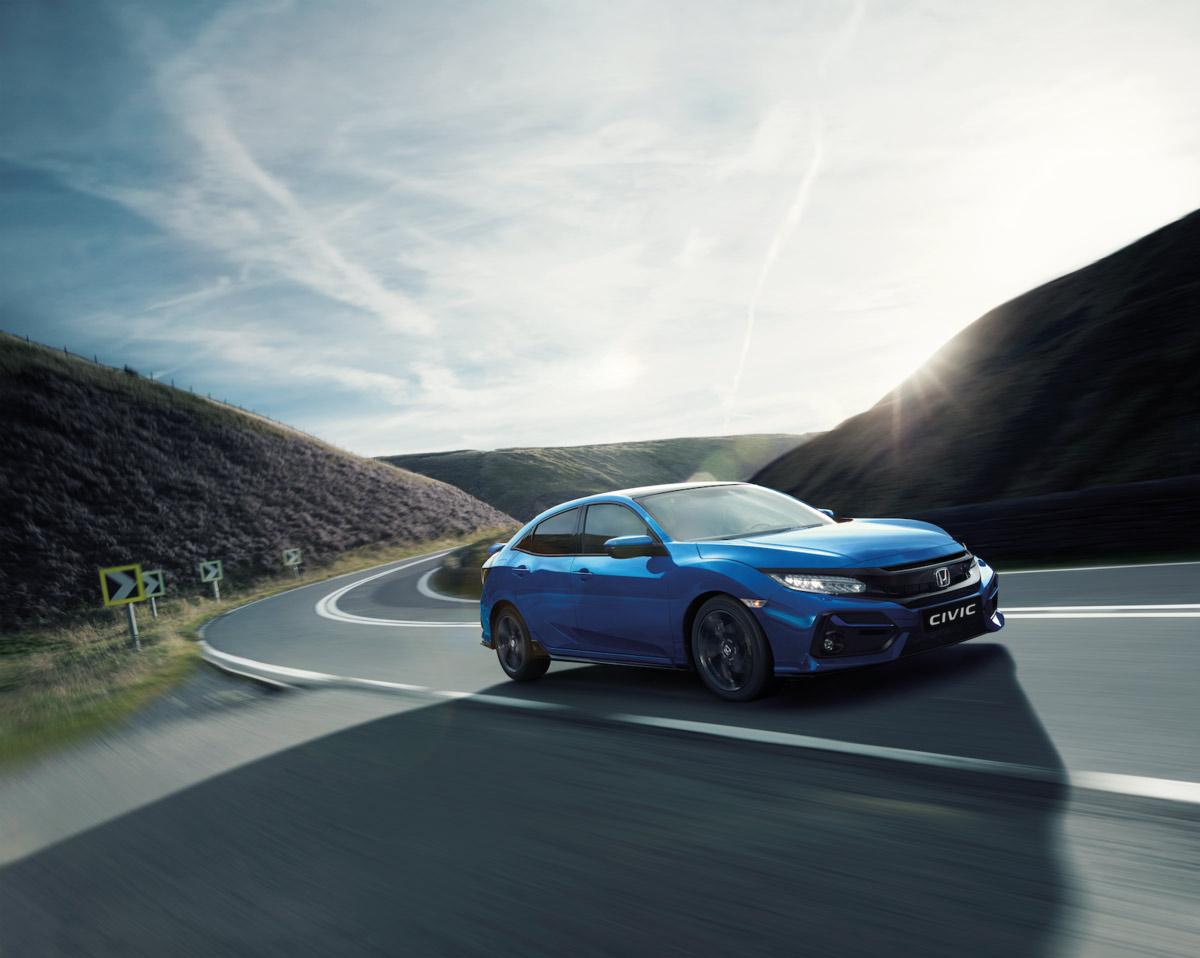 Revoluciona, reinventa, renueva tu camino con el Honda Civic.