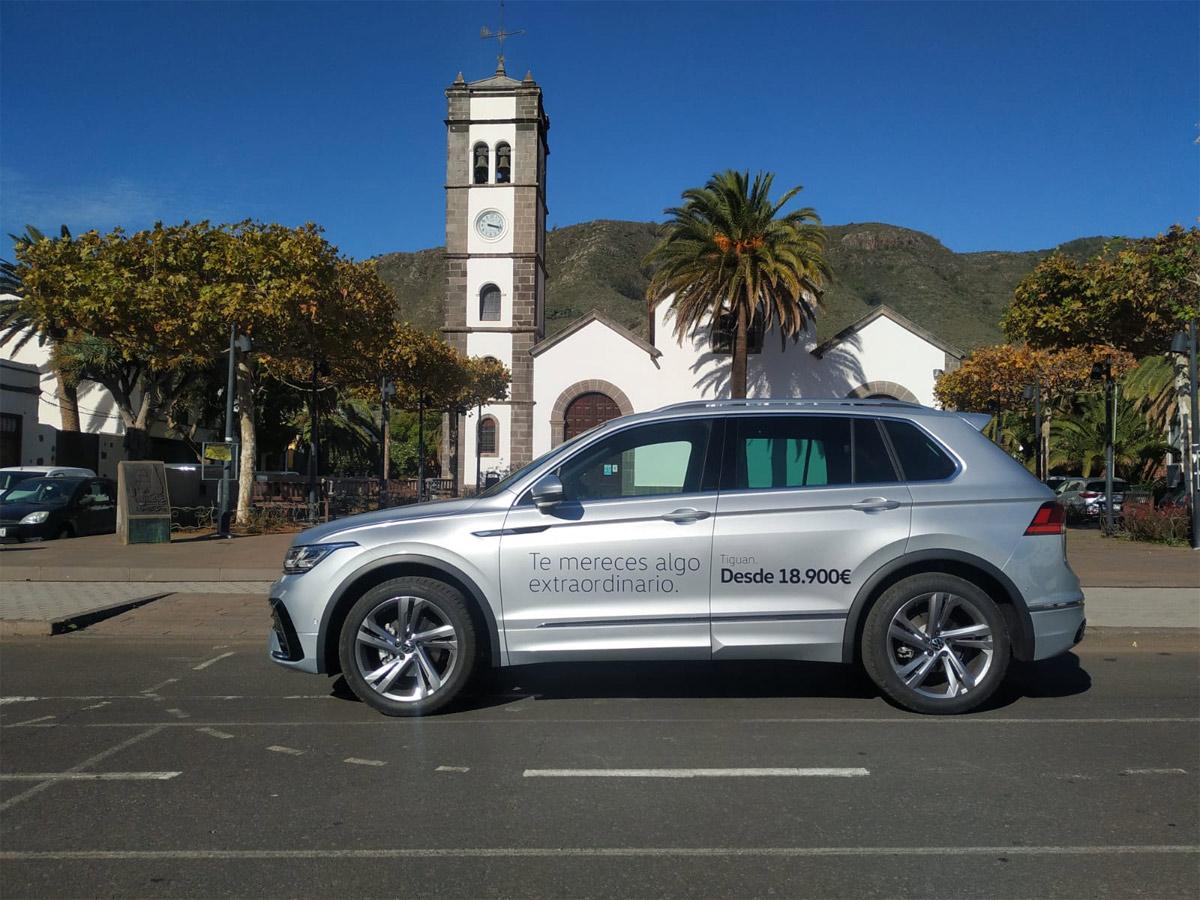 Volkswagen Canarias patrocina el Rally Sprint Tejina-Tegueste