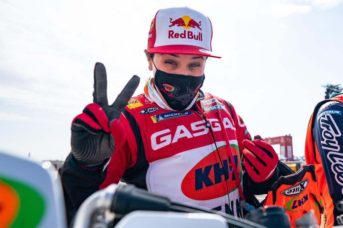 Heroico 11 de 11 para Laia Sanz en el Rally Dakar
