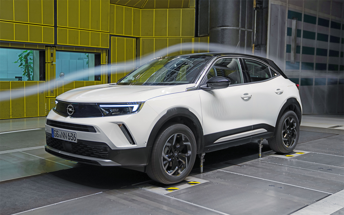 Nuevo Opel Mokka: Con una avanzada aerodinámica para una mayor eficiencia y menores emisiones