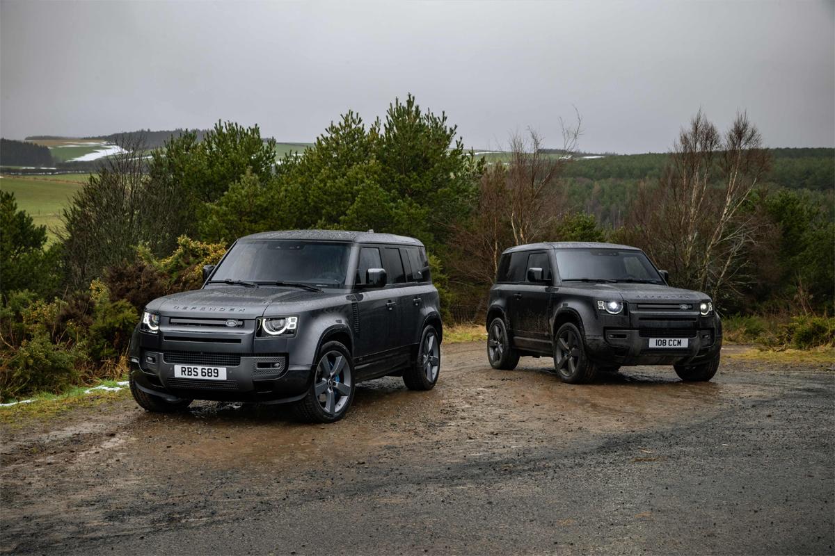 Land Rover Nueva Gama Defender 22MY: Potente V8 y ediciones especiales.