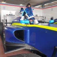 Santi Concepción Jr. realiza un test en el Circuito del Jarama a los mandos de un Fórmula 4 del equipo Teo Martín Motorsport