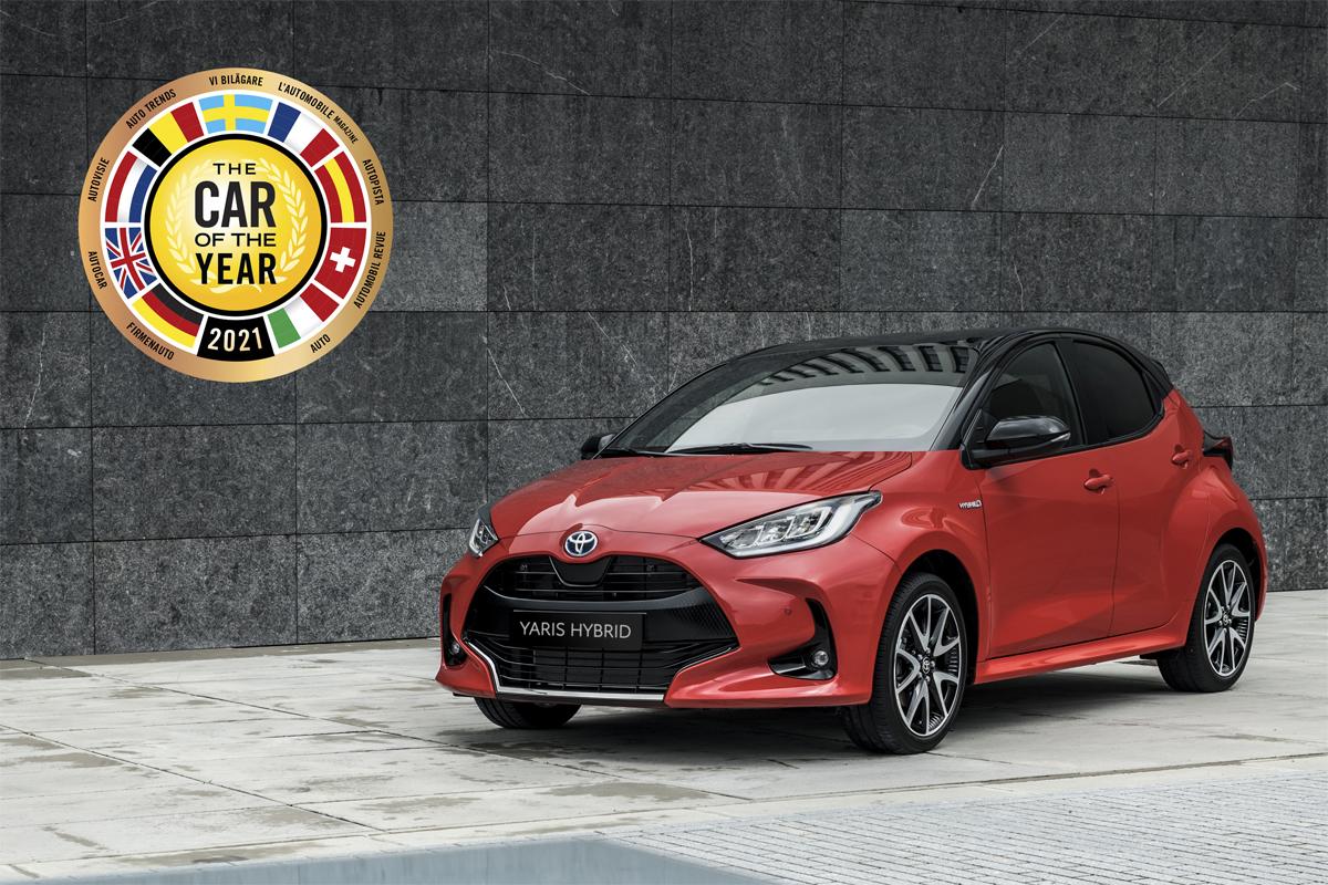 El nuevo Toyota Yaris, designado Coche del Año en Europa 2021