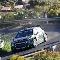 Falcón y Cambeiro obtienen un valioso podio en el Rally Ciudad de Telde