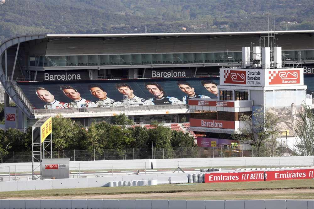 Fernando Alonso y Carlos Sainz estrenan el Gran Premio de España de Fórmula 1