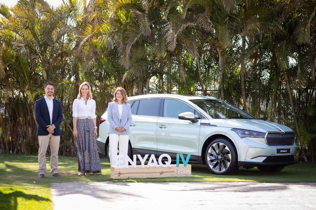 Canarias recibe al ENYAQ, el primer SUV 100% eléctrico de ŠKODA