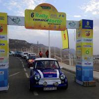 Nueve tramos en esta nueva edición Regional del 7º Rallye Comarca Norte de Gran Canaria