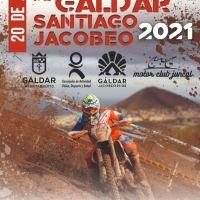 40 Pilotos en el Enduro de Galdar Santiago Jacobeo 2021