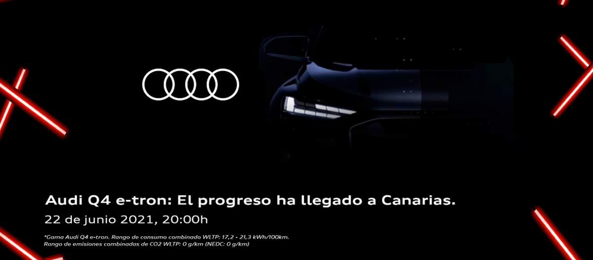 Audi Q4 e-tron: El progreso ha llegado a Canarias