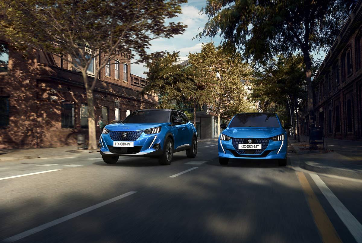 De vacaciones con la gama eléctrica Peugeot