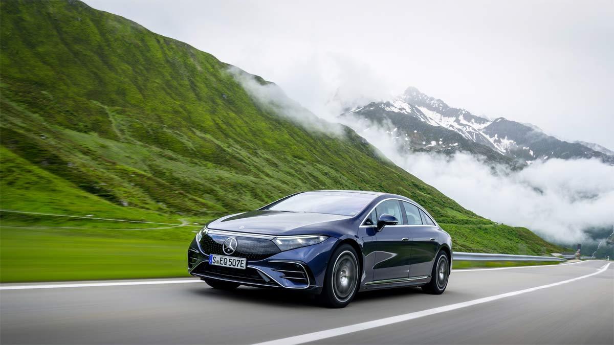 El nuevo EQS: el primer automóvil eléctrico en la gama de lujo