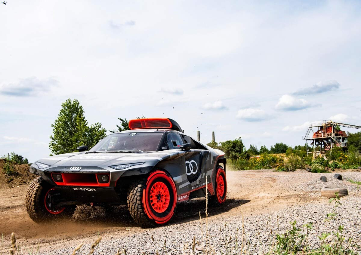 Audi RS Q e-tron: la tecnología del futuro en el Rally Dakar