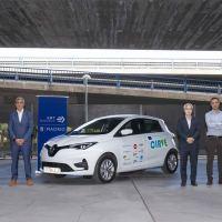 Renault ZOE cruza la península ibérica inaugurando un corredor de puestos de recarga