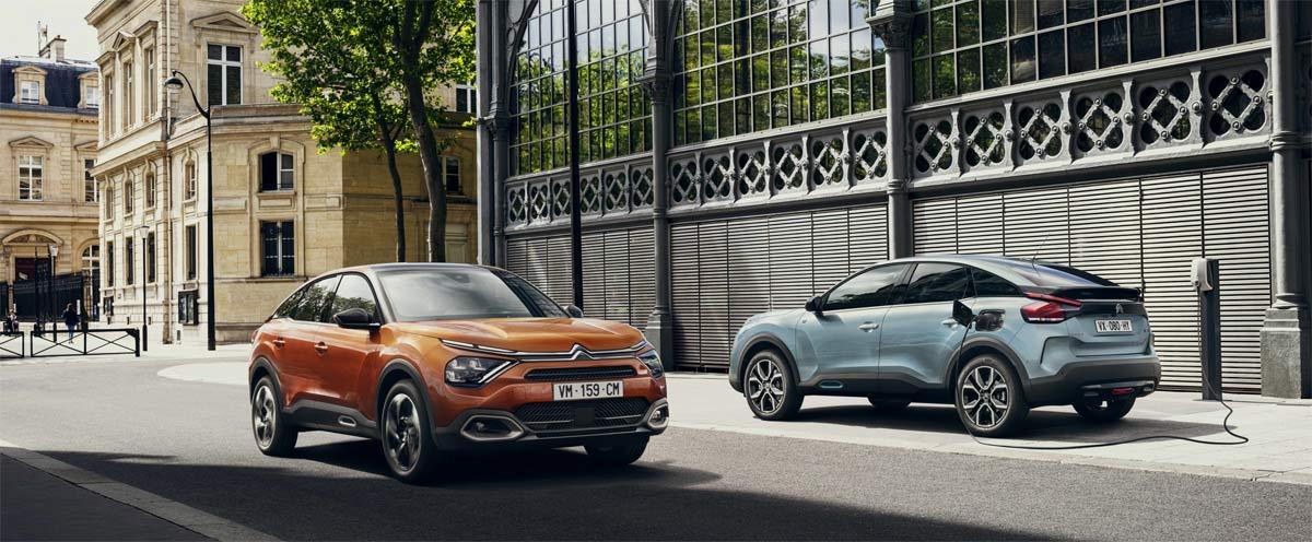 """Nuevos Citroën C4 y ë-C4 100% eléctricos:¡Un éxito """"Made in Spain"""" en Europa!"""