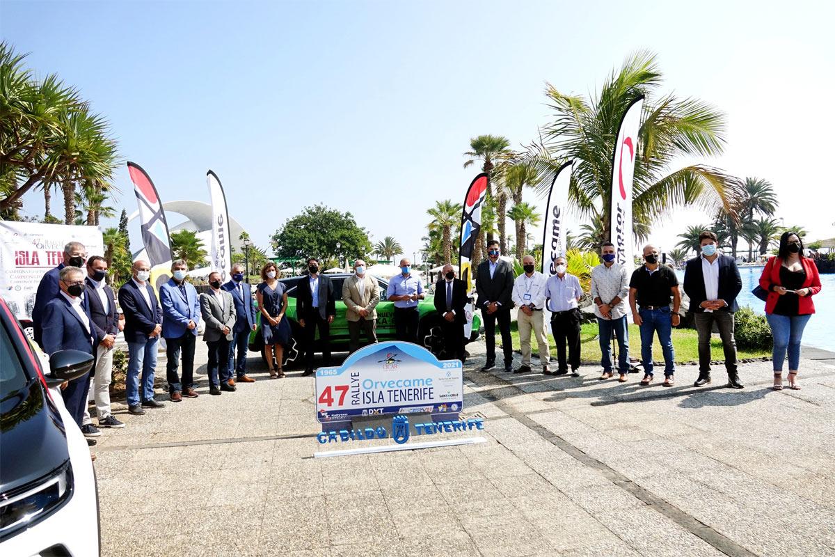 Santa Cruz será de nuevo el epicentro del motor con el Rally Orvecame Isla de Tenerife