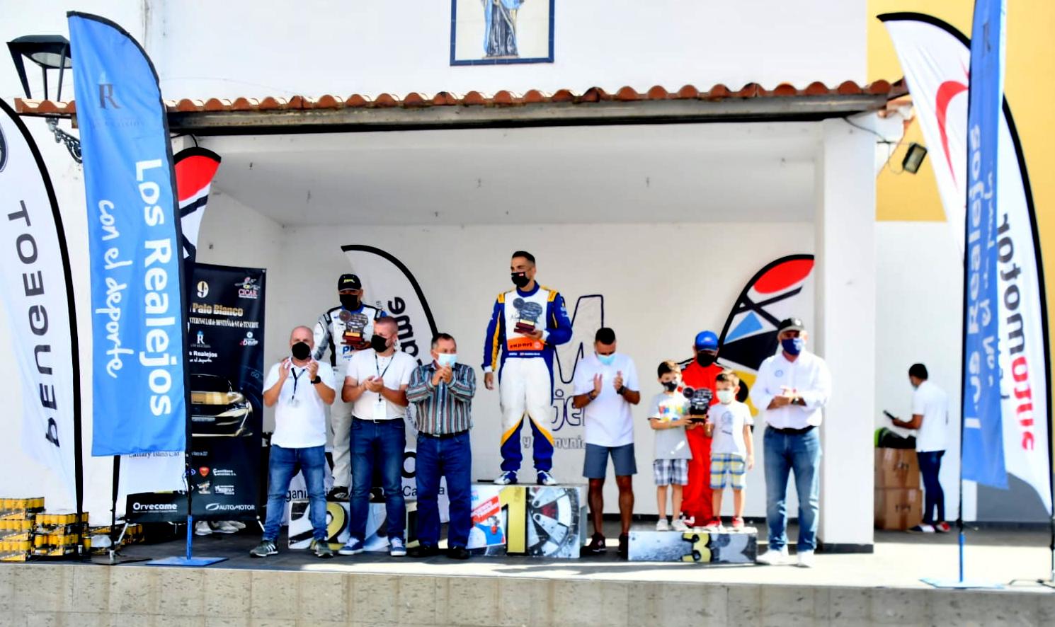 Jonathan García, en turismos y Arunzu Quintero, en barquetas los más rápidos en Palo Blanco