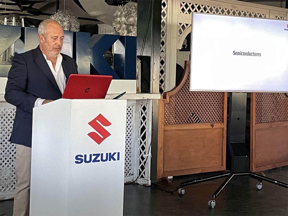 Juan López Frade, Presidente de Suzuki Ibérica: La crisis de los microchips nos ocupará todo 2022