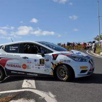 La  Copa Nissan Micra  en el Rallye de Maspalomas