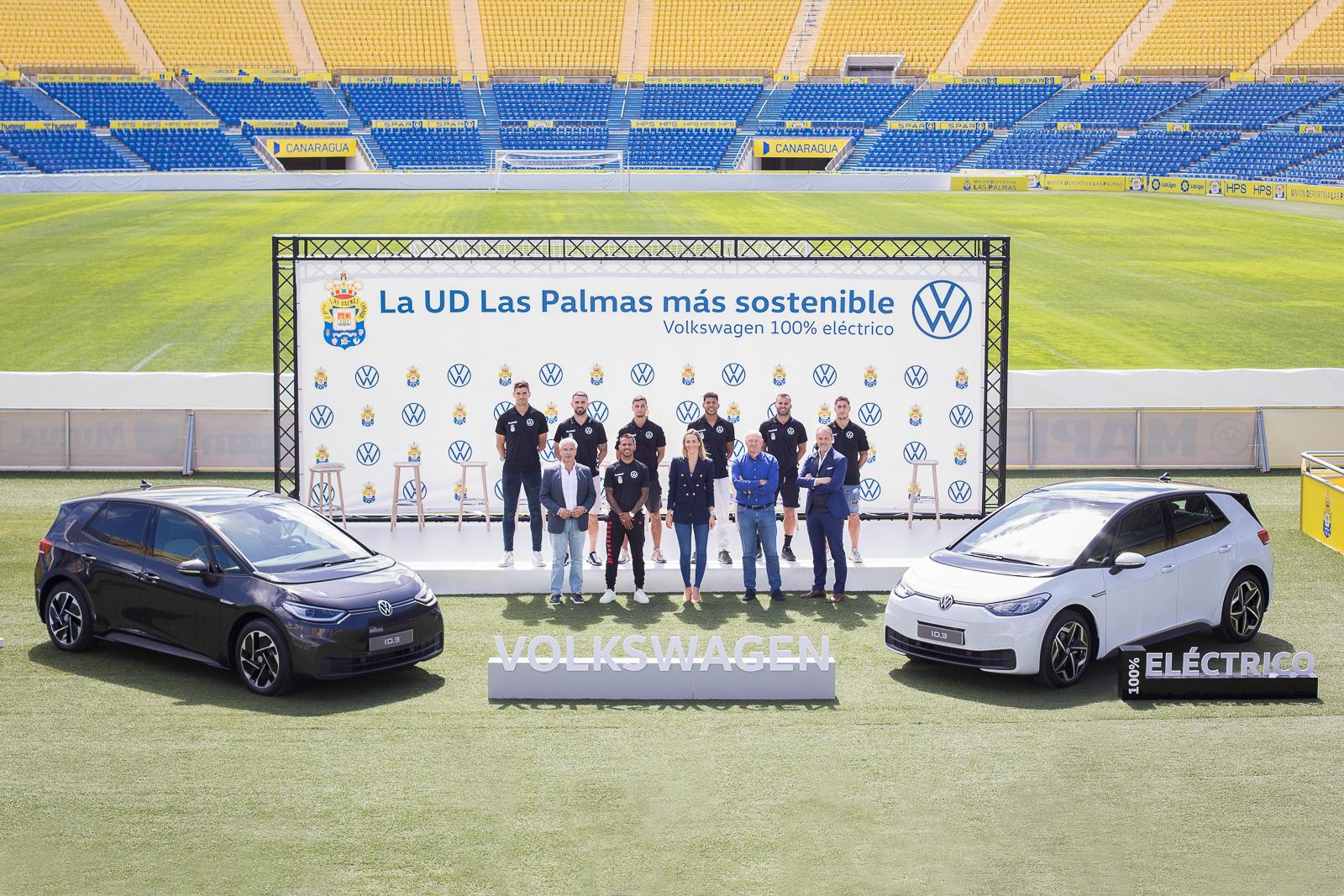 La UD se electrifica con el Volkswagen ID.3: nueva flota cero emisiones para el equipo amarillo